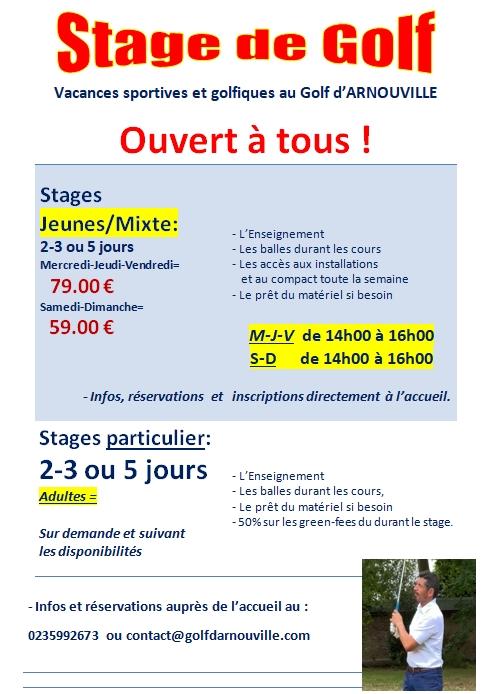 Stage Jeunes 2021